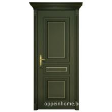Oak Wood Veneer Dark Cyan Single Doors (MSGD25)