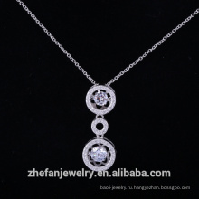 Твердые серебряные dancingcz кулон алмазный камень из Китая мода ювелирные изделия поставщик