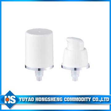 Pompe à crème anti-humidité Alu 18mm pour bouteille de crème cosmétique