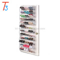 portable shoe rack shoe cabinet,shoe display cabinet,36 Pairs Over the Door Hanging Shoe Rack