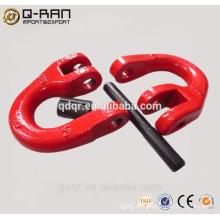 Cadena conexión enlace/polvo cubrió la cadena de conexión de enlace