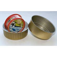 8011 H14, H16, H18 templar el material de las tapas de aluminio con lubricación