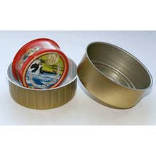 8011 H14, H16, H18 temperado material de tampas de alumínio com lubrificação