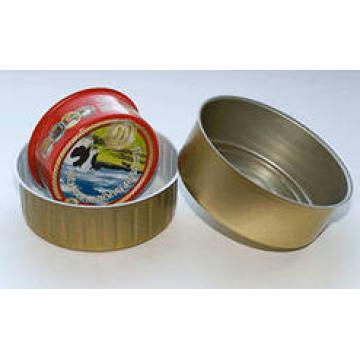 8011 H14, H16, H18 temper aluminum caps material with lubrication