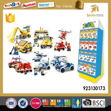 Pädagogische Kinder verriegelnde Baustein Spielzeug-Set