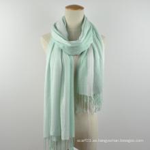 Las nuevas señoras del otoño del resorte rayan el mantón sólido de la bufanda del empalme