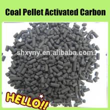 Carvão ativado extrudado a base de carvão com forma cilíndrica 1,5mm