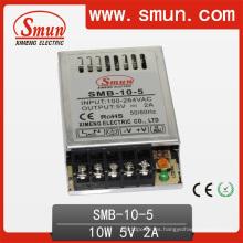 Fuente de alimentación delgada ultra fina de la transferencia 10W 5V / 12V / 15V / 24V