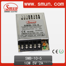 10W Ultra Thin Slim Switching Power Supply 5V/12V/15V/24V