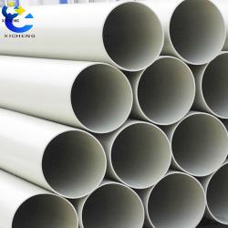 Plastic ventilation ducting pipe