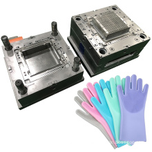 manufacture design custom new mold for silicone gloves household washing glove mould