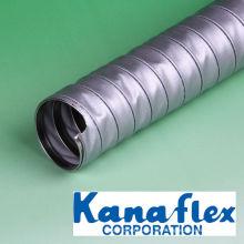 Manguera de conducto flexible resistente al calor para altas temperaturas. Fabricado por Kanaflex Corporation Co., Ltd. Hecho en Japón