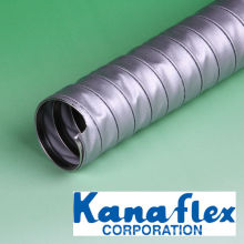 Mangueira flexível de duto resistente ao calor para altas temperaturas. Fabricado pela Kanaflex Corporation Co., Ltd. Fabricado no Japão