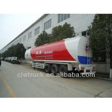 Tri-axle 50 cbm reboque cisterna de combustível, 50000L semi reboque cisterna de combustível