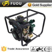 Tragbare Dieselmotor Wasserpumpe gesetzt