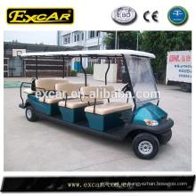 EXCAR barato de 8 asientos eléctricos de autobús de señalización mini tour coche de autobús de china