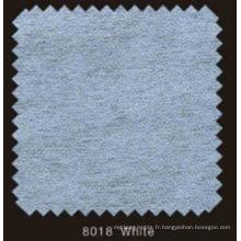 Couleur blanche non tissée DOT Interlining avec poudre de PA (8018 blanc)