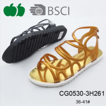 Senhora Último Novo Design Flat Model Trendy Sandals