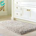 Gray Water Absorbent Super Plush Washable Bathroom Rug Set