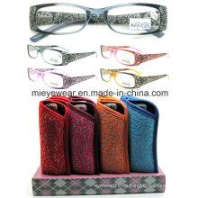 Nuevos vidrios de lectura de Eyewearframe de las señoras de la manera (MRP21565)