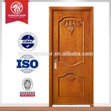 Portes en bois en bois personnalisées, porte anti-incendie à balancier unique