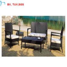 Плетеный журнальный столик из ротанга стул ротанга диван ротанга (CF927)