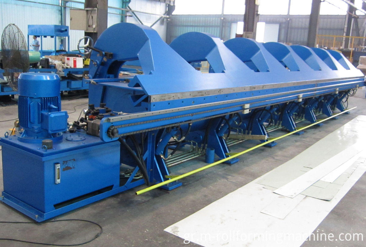 steel sheet metal cutting and bending machine