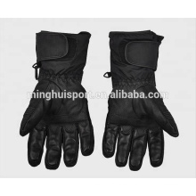 2016 guantes impermeables del coche y de la motocicleta que completan un ciclo y guantes de la bici del motor guantes calentados calientes del invierno