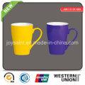 Color Glazed Porcelain Mug (JSD115-SY-009)