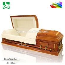 Chinois bien imploré cercueils exporté standard de haute qualité