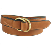 D-ring buckle leisure style wholesale leather belts
