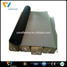O rolo líquido da tela do material reflexivo do fabricante EN471 sew na fita reflexiva para a roupa