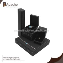 custom logo PU Jewelry packing box