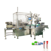High quality automatic 10ml vacutainer vial blood test tube filling and capping machine
