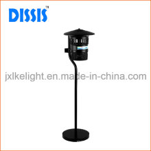 PC + Iron Lámpara de flujo UV para interiores con soporte Mosquitos Catcher