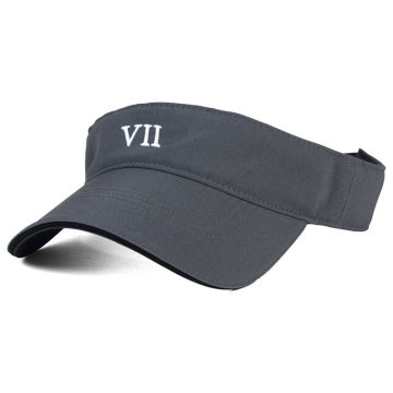 Fashion design sun visor with embroidery