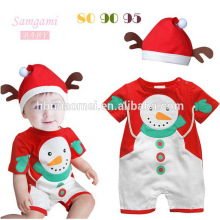 2017 vêtements de boutique en gros pour enfants Nouvel Article Enfants Vêtements De Noël Chevron tulle robe et pantalon en ensemble