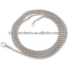 Fashion High Quality Metal 2.4mm Stainless Steel Ball Chain Necklace