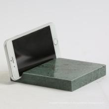 Support de téléphone en marbre naturel