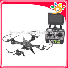 Mais recente Uma chave retirar Drone 5.8G 4 CH 6 Axe Gyro FPV Quadcopter RC em tempo real com alta definição e câmera HD