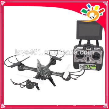 Новейший Один ключ снимает Drone 5.8G 4 CH 6 Axis Gyro FPV Реостат реального времени RC Quadcopter с высокой настройкой и HD-камерой