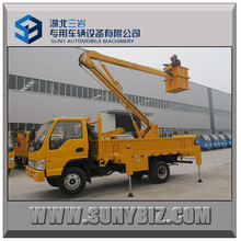 JAC 18m Articulated Booms Aerial Working Platform Truck with Insulation