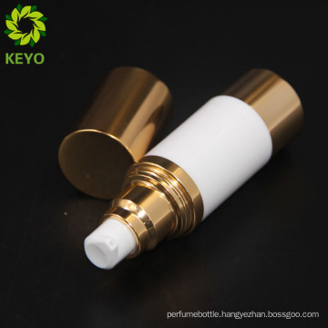 Small aluminum airless bottle opaque airless cosmetic pump empty skin care airless containers