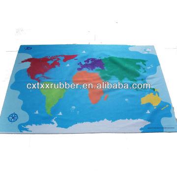 Estampado de gran tamaño impreso, tamaño grande impreso doormat, 1x2 'estampado tapete de juego