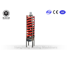 Energy Saving Spiral Chute with High Recovery Rate