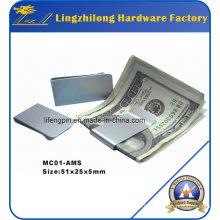 Clips métalliques pour la gravure Buck Money Clip