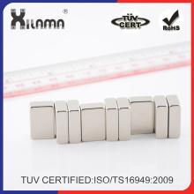 Leistungsfähiger Neodym-Magnet Kühlschrankmagnet Gold NdFeB Magnet