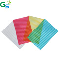 Heat Resistant Transparent Two Compartment Sheet Plastic Pool Cover Polycarbonate Hollow Sheet