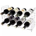 Acrylic bottle display rack wine bottle display shelf