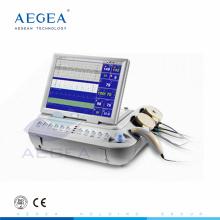 Многофункциональный ультразвуковой аккумуляторная батарея тарифа сердца младенца 12.1-дюймовый цветной ЛДЕ поворот экрана фетальный монитор фетальный монитор